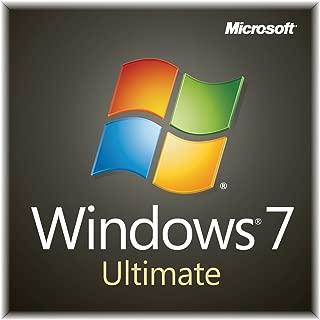 Windows 7 Ultimate 32 64 BIT OEM Product Code / CD