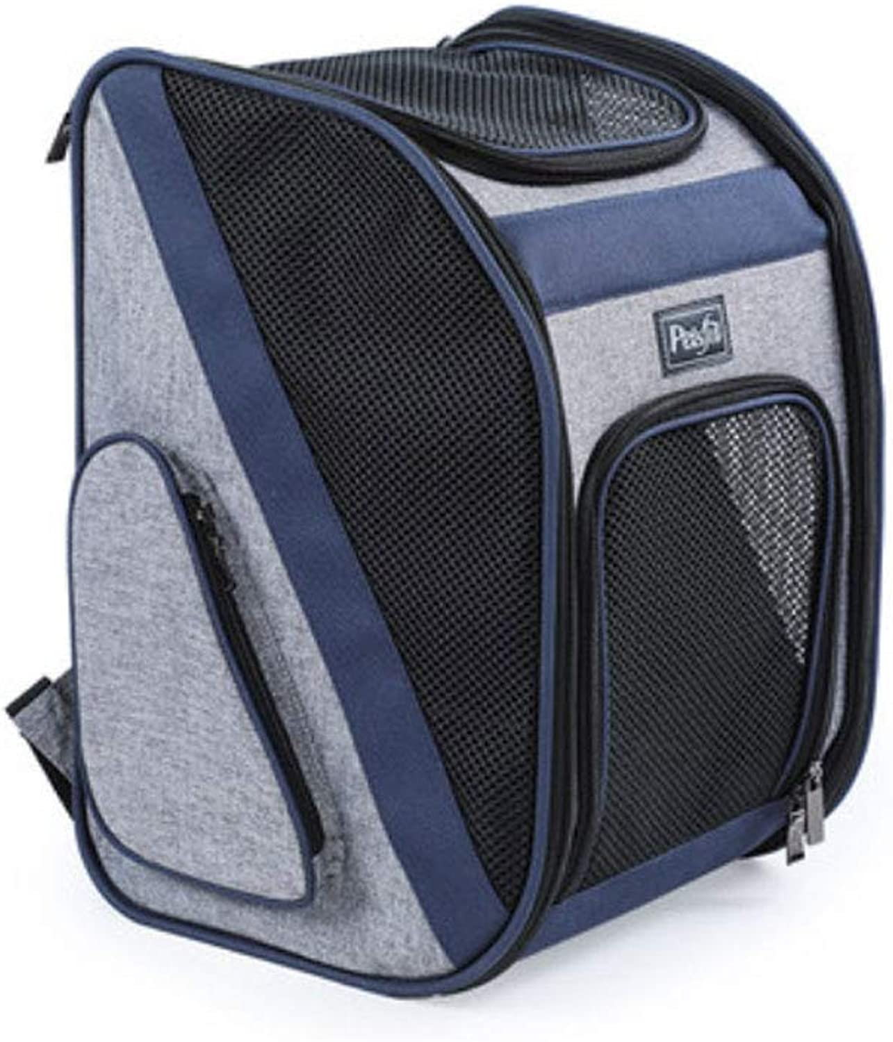 ZHANGQIAN Pet Carrier Backpack, Adattabile Pet Front Cat Carrier Backpack Travel Bag, Legs Out, EasyFit for Traveling Hiking Camping