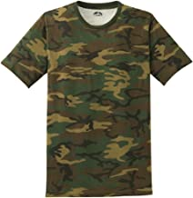 Joe's USA Mens Camo-Camouflage T Shirts in Mens Sizes: XS-4XL