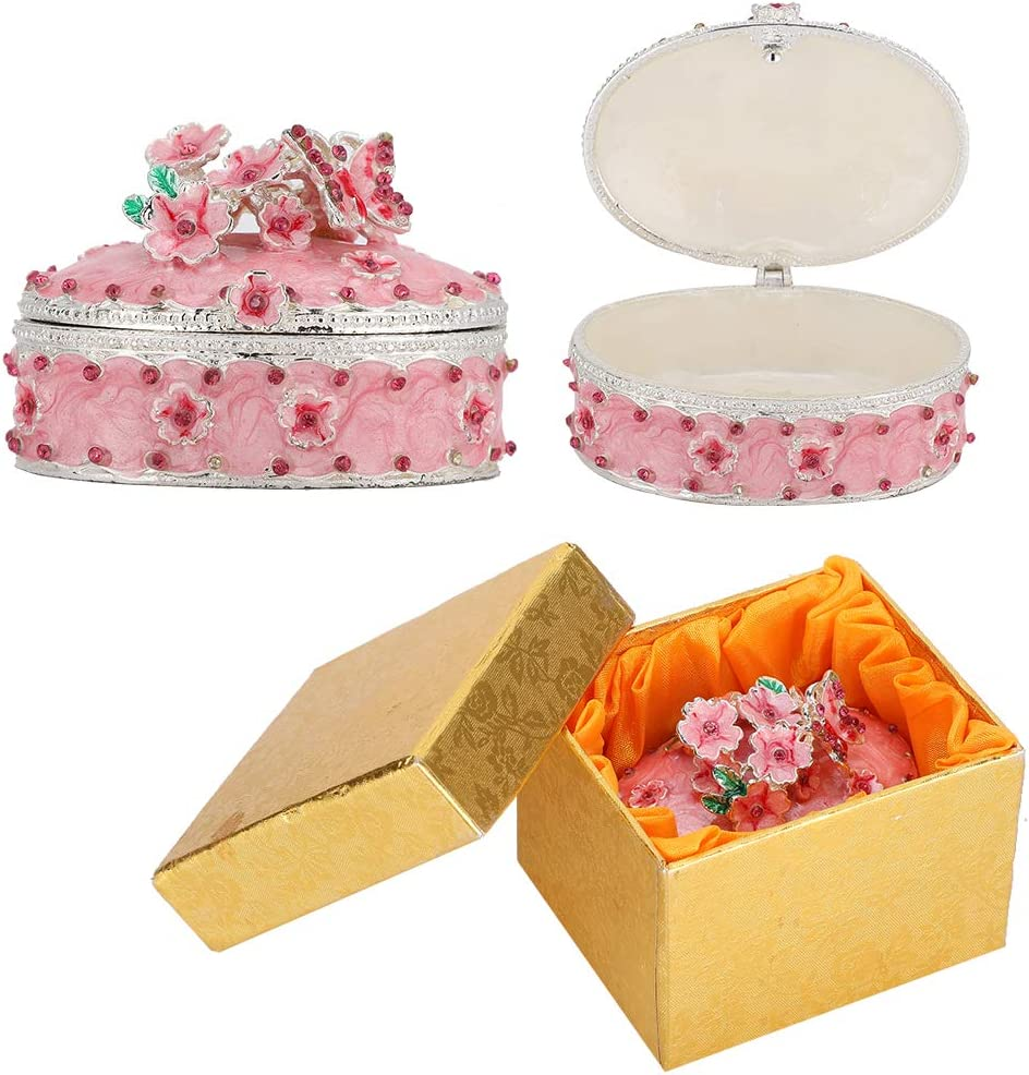 specialty shop Cherry Blossoms New product! New type Jewelry Box Exquisite Ho Ornaments Desktop Gifts