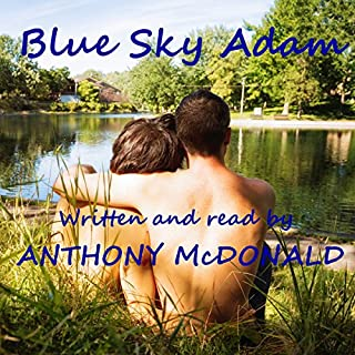 Blue Sky Adam audiobook cover art