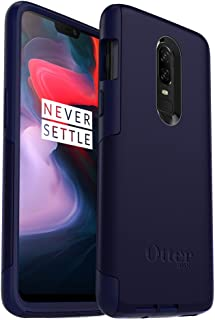 OtterBox Commuter Series Case for OnePlus 6 - Retail Packaging - Indigo Way (Maritime Blue/Admiral Blue)