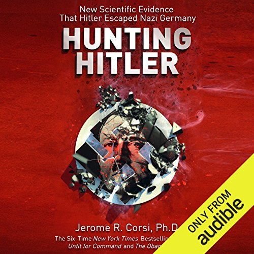 Hunting Hitler audiobook cover art