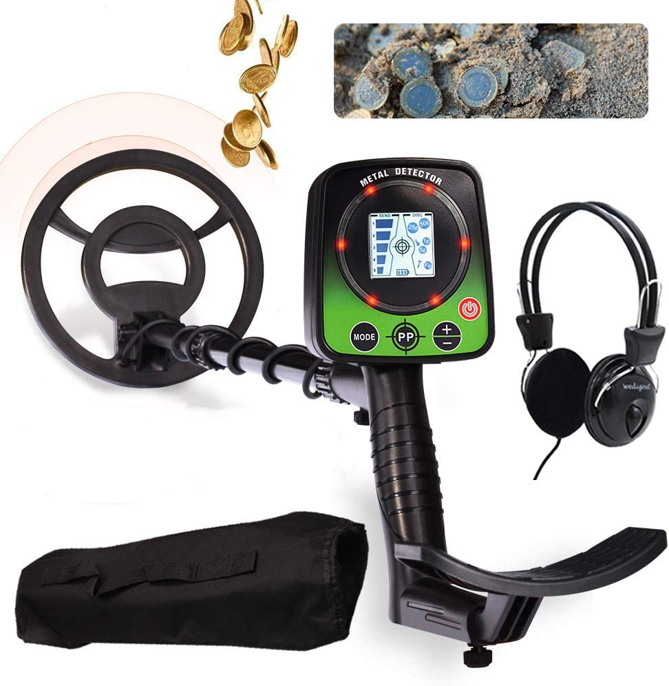 UOBEKETO Adults Spring new work Portable Metal Detector S High Underground - Atlanta Mall LCD
