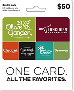 Darden Restaurants Gift Card