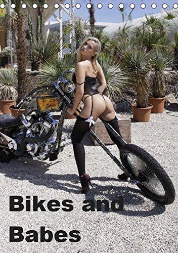 Bikes and Babes (Tischkalender 2019 DIN A5 hoch): Motorräder und Mädchen (Monatskalender, 14 Seiten )
