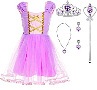 Princess Costume Dress with Accessories