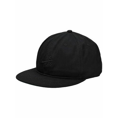 f9a82ccf78eae5 Nike SB Pro Vintage Snapback Hat (Black/Pine Green/Black/Black)