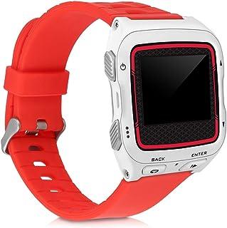 kwmobile Pulsera Compatible con Garmin Forerunner 920XT - Brazalete de Silicona en Rojo sin Fitness Tracker