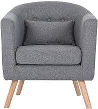 Sofa Armchair Bedroom Living Room Sofa Single Chair Leisure High Back Reading Chair Dining Office Reception Cafe Sofa 55 *...