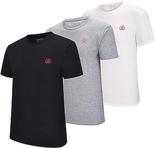 シャツ メンズ 半袖 無地 Tシャツ 3枚組 綿100% アンダーシャツ インナーシャツ...