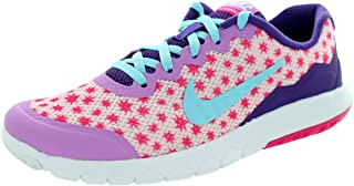 NIKE Kid's Flex Experience 4 Print (GS) Running Shoe