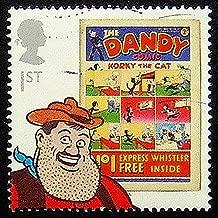 The Dandy Comic Korky The Cat UK -Handmade Postage Stamp Art 0519