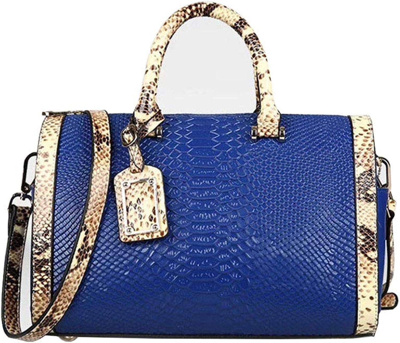 CCBubble Crocodile Grain Handbags for Women Shoulder Crossbody Genuine Leather Bags