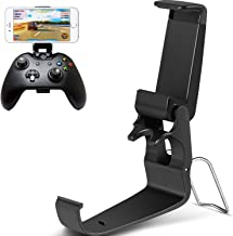 Jovitec 2 Pack Foldable Controller Clip Mobile Phone Plastic Holder Smartphone Game Clamp for Xbox One Controller