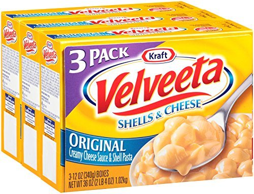 Velveeta Kraft Shells and Cheese, Original, 36 Ounce by Velveeta