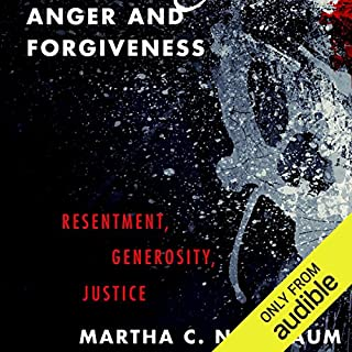 Anger and Forgiveness audiobook cover art