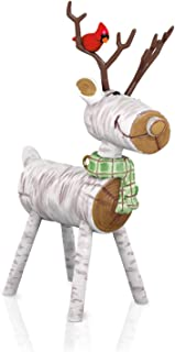 Best wooden log reindeer Reviews