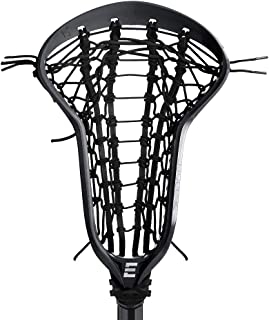 Epoch Lacrosse Factory Tie Up, Purpose 15 Degree Head, with Ladder Pocket Black