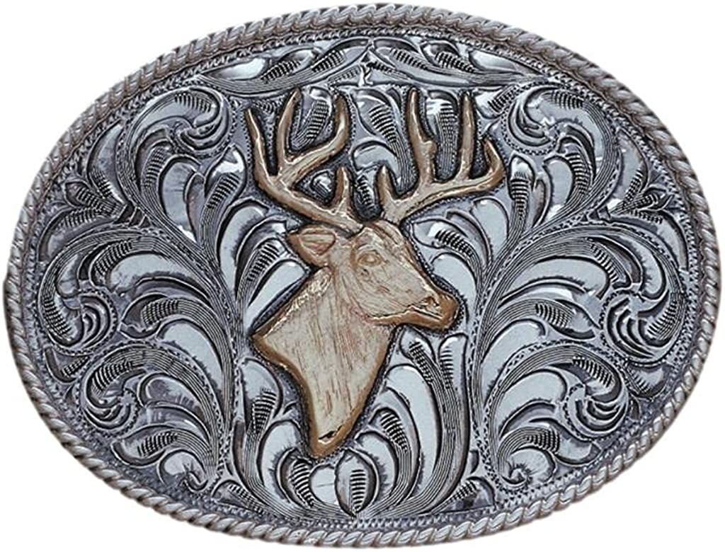 Vogt Silversmiths Western Belt Buckle Mens Trophy Los Gifts Alamos Super Special SALE held 180