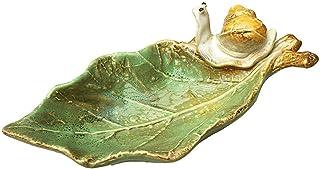 Sxmy Ingång keramisk godisskål handgjord tvålkopp låda ljushållare nyckel skål prydnad askkopp inflyttningspresent
