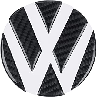 Car Tail Trunk Grooves Stickers Carbon Fiber Hollow Emblems for Volkswagen For VW Golf 5 6 7 Sagitar Magotan CC Tiguan Polo R20