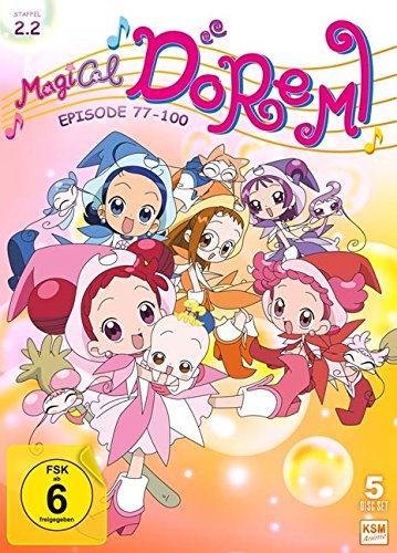 Magical Doremi: Staffel 2.2 (Episode 77-100 im 5 Disc Set)