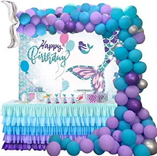 Fancy Party Decorations Tre chic Birthday Centerpieces Mermaid Birthday 12 regular pinwheels Mermaid Decorations