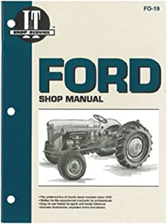 FO19 New Ford/New Holland Tractor Shop Manual NAA (Jubilee) SMFO19