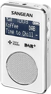 Sangean DPR-35 DAB+/FM Radio White & AUST SANGEAN Warranty (Replaces DPR-34)