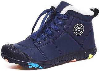 Pyjacos Botas de Nieve para niños Zapatos de Invierno Chico niña