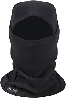 Fleece Lined Balaclava, Winter Windproof Ski face Mask,Thermal Motorcycle Neck Warmer and Tactical Balaclava Hood