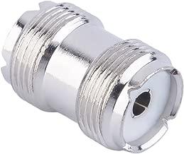 YoungerY Adaptador de Antena convertidor coaxial Adaptador RF Conector Hembra RF 1pc F Hembra a N Hembra