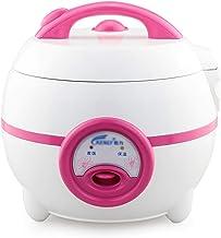 Rijstkoker (1.2L-200W) Huishoudelijke Mini Rijstkoker, automatische warmtebehoud, spatel en maatbeker, voor 1-2 personen