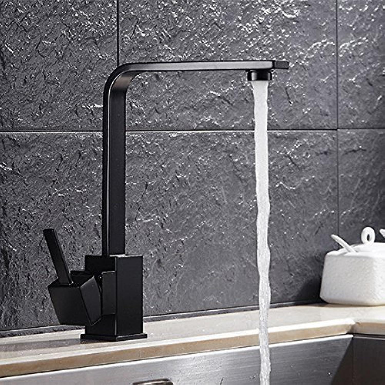 Grohandel Quadrat flach Warme und Kalte Küche Spüle Wasserhahn Küche Küchenarmaturen