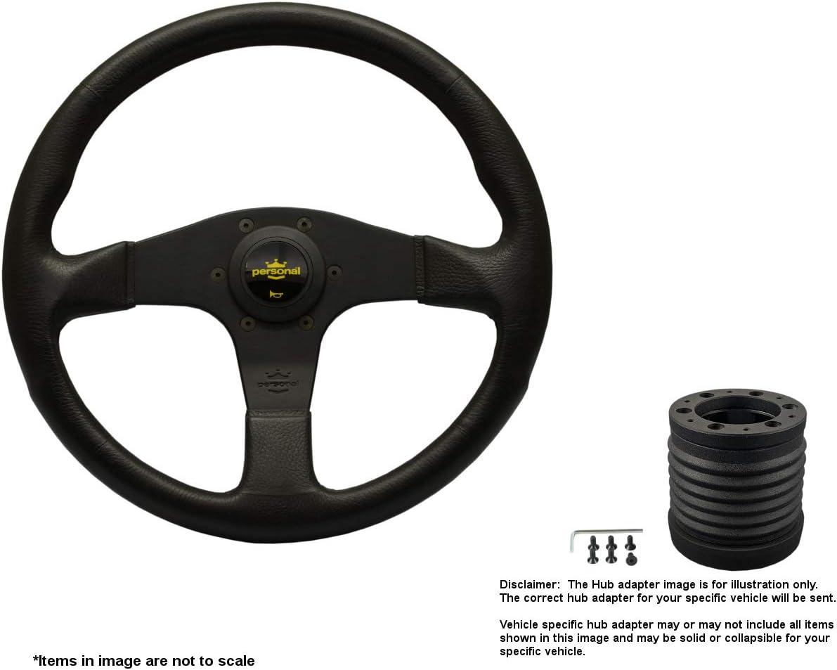 Nardi Tampa Mall Blitz 340mm 13.39 Inches Steering Wheel 100% quality warranty a w Spokes Black