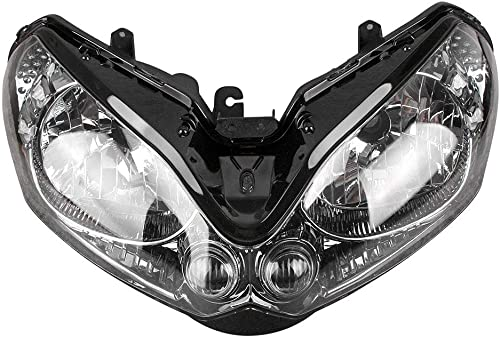 lowest Mallofusa Motorcycle Front Headlight Headlamp Assembly Compatible for Kawasaki 2021 ZG1400 1400GTR outlet online sale 2008 2009 2010 2011 outlet online sale