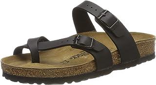 Birkenstock Women's Mayari Sandal,Black Birko-flor,40 EU/9-9.5 M US