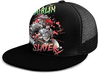 Man Woman Adjustable Baseball Cap Anime The Goblin Slayer Sunscreen Hat Black