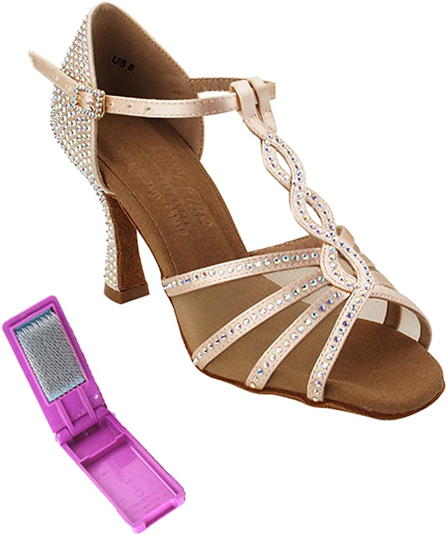 Very Fine Ladies Latin Rhythm Popular brand Salsa - Wedding Shoes Dance Today's only Cry