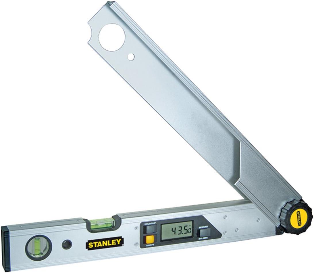 Stanley Nivel/Medidor de ángulos Digital 0-42-087, 49cm