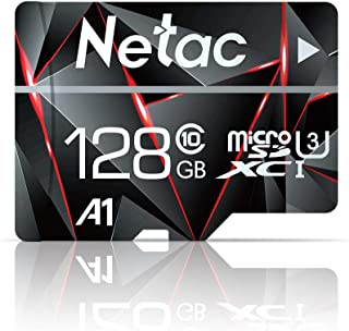 256GB Micro SD Card, Netac Memory Card MicroSD High Speed Transfer A1 C10 U3 MicroSDXC TF Card for Cemera/Phone/Nintendo-Switch/Galaxy/Drone/Dash Cam/GOPRO/Tablet/PC/Computer with Adapter
