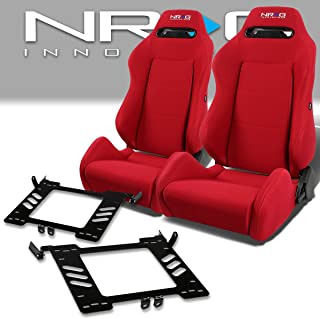 Pair of RSTRLGRD Racing Seats+Mounting Bracket for Volkswagen Golf/Jetta/Beetle A4 Typ 1J