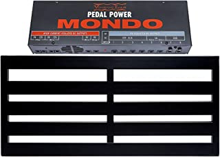 Pedaltrain NOVO 32 Pedalboard 5 Rails 32x14.5 w/Soft Case and Voodoo Lab Pedal Power MONDO Isolated Power Supply