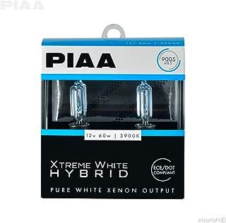 PIAA 23-10195 9005 Xtreme White Hybrid Bulb, 3900K-12V 60W-Twin Pack, 2 Pack
