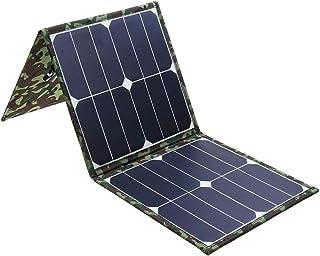 CCChaRLes Double Banque D'Énergie Solaire De Conversion Élevée De Panneau Solaire Ip65 Sunpower Pliable D'Usb 60W