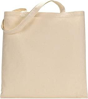 Set of 24 Blank Cotton Tote Bags Reusable 100% Cotton Reusable Tote Bags (2 dozen)
