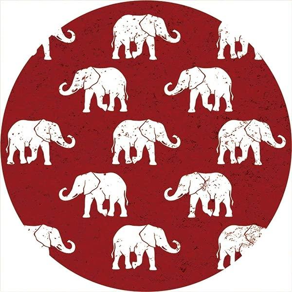 汽车杯垫单个 1 吸水石头杯垫用于杯架红象