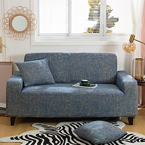 WXQY Funda de sofá Floral elástica Funda de sofá de Sala de Estar Moderna, Esquina, Chaise Longue, Protector de Silla, Funda de sofá Todo Incluido A11 1 Plaza