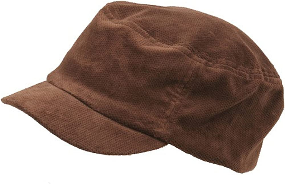 e4Hats.com Corduroy Fitted Engineer Cap
